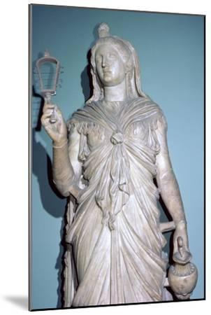 Romanised statue of Isis. Artist: Unknown-Unknown-Mounted Giclee Print