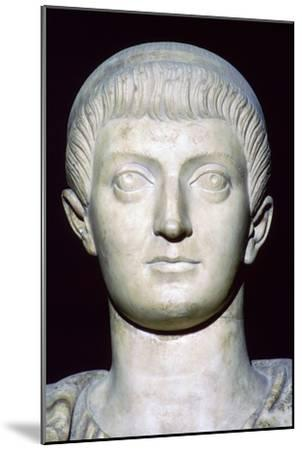 Bust of Constans I. Artist: Unknown-Unknown-Mounted Giclee Print