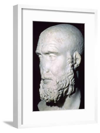 Bust of Pupienus Maximus, 2nd century. Artist: Unknown-Unknown-Framed Giclee Print