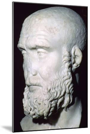 Bust of Pupienus Maximus, 2nd century. Artist: Unknown-Unknown-Mounted Giclee Print
