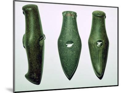 Neolithic stone axes. Artist: Unknown-Unknown-Mounted Giclee Print