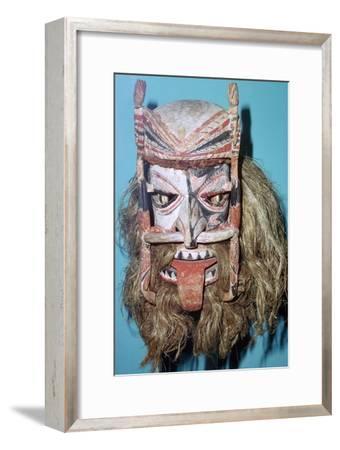 Spirit Mask from New Ireland. Artist: Unknown-Unknown-Framed Giclee Print