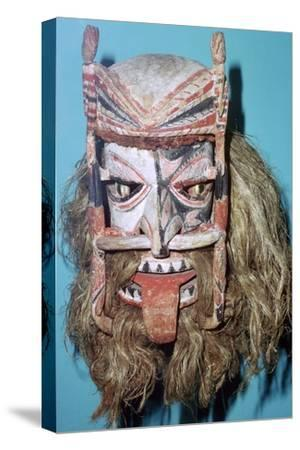 Spirit Mask from New Ireland. Artist: Unknown-Unknown-Stretched Canvas Print