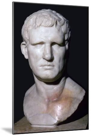 Bust of Agrippa, 1st century BC. Artist: Unknown-Unknown-Mounted Giclee Print