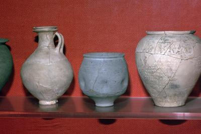 Trio of Roman pots. Artist: Unknown-Unknown-Framed Giclee Print