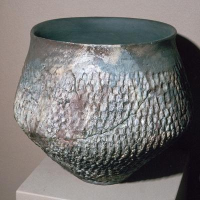Pot from the Urnfield culture, 1300 BC-750 BC. Artist: Unknown-Unknown-Framed Giclee Print