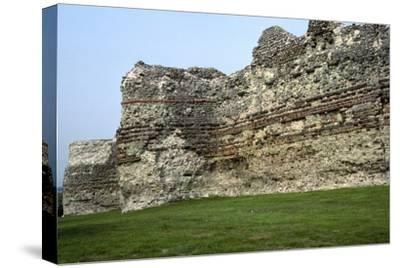 Pevensey Castle. Artist: Unknown-Unknown-Stretched Canvas Print