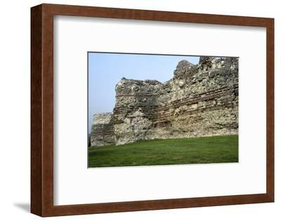Pevensey Castle. Artist: Unknown-Unknown-Framed Photographic Print