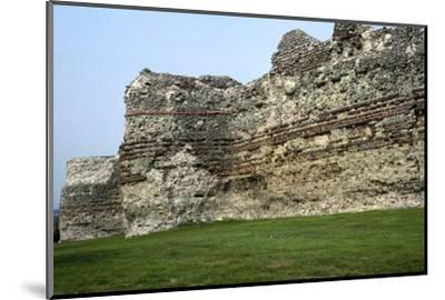 Pevensey Castle. Artist: Unknown-Unknown-Mounted Photographic Print