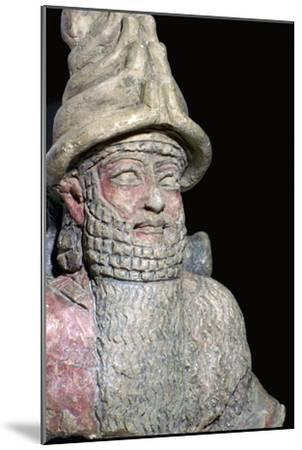 Terracotta statue of a great god from Ur. Artist: Unknown-Unknown-Mounted Giclee Print