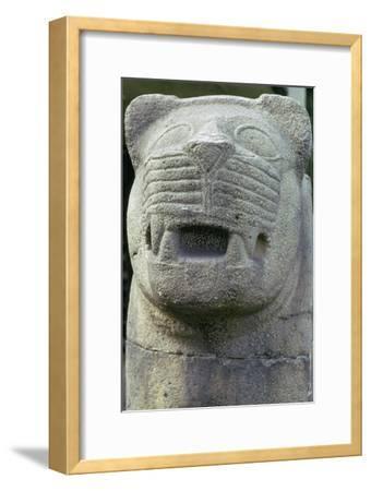 Neo-hittite Stone Lion. Artist: Unknown-Unknown-Framed Giclee Print