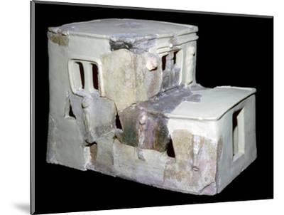 Bronze Age Syrian model of a house. Artist: Unknown-Unknown-Mounted Giclee Print