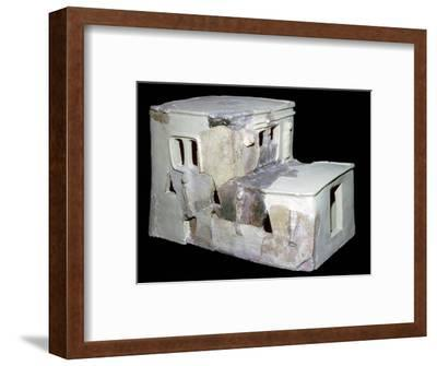 Bronze Age Syrian model of a house. Artist: Unknown-Unknown-Framed Giclee Print