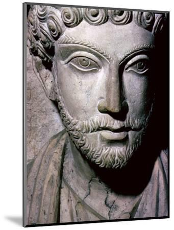 Limestone bust of Hairan, son of Marion from Palmyra, Syria, c150-200. Artist: Unknown-Unknown-Mounted Giclee Print