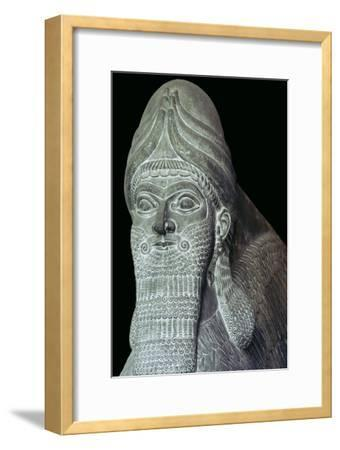 Assyrian Winged Bull detail. Artist: Unknown-Unknown-Framed Giclee Print