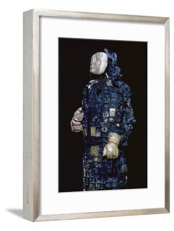 Lead figure from the Urartu culture. Artist: Unknown-Unknown-Framed Giclee Print