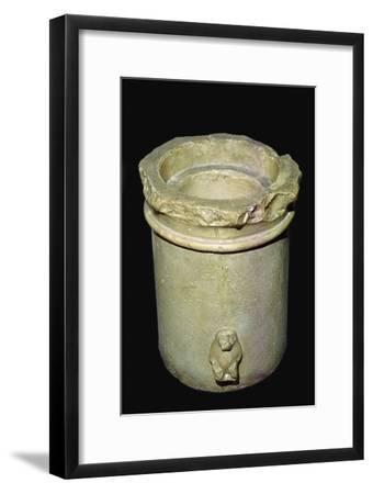 Egyptian water-clock. Artist: Unknown-Unknown-Framed Giclee Print