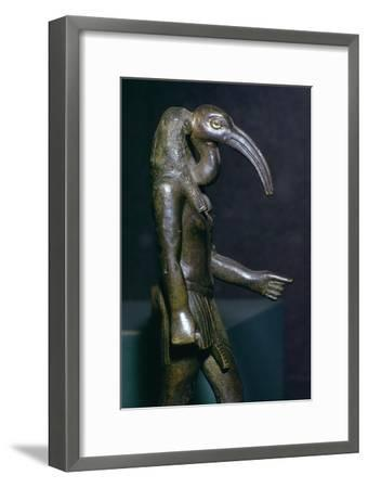 Egyptian statuette of Thoth, 7th century BC Artist: Unknown-Unknown-Framed Giclee Print