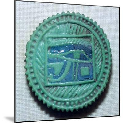 Egyptian faience amulet. Artist: Unknown-Unknown-Mounted Giclee Print