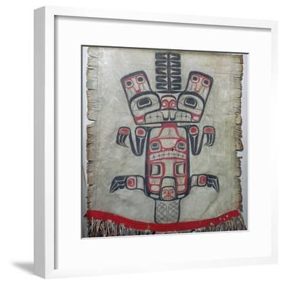 Native American dance apron. Artist: Unknown-Unknown-Framed Giclee Print
