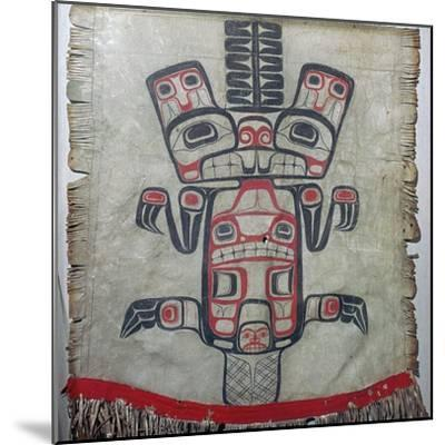 Native American dance apron. Artist: Unknown-Unknown-Mounted Giclee Print