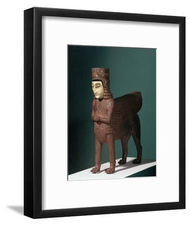 Bronze fantastic creature from Urartu, 9th century BC. Artist: Unknown-Unknown-Framed Giclee Print