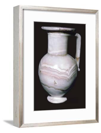 Egyptian Alabaster Jar. Artist: Unknown-Unknown-Framed Giclee Print