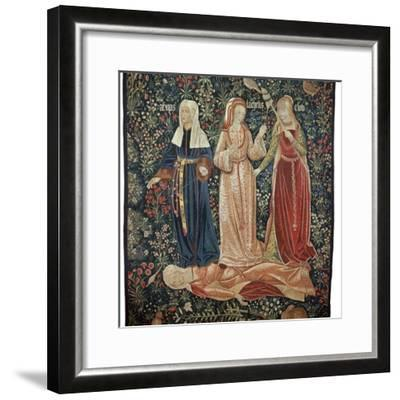Illustration of the 'Triumph of death over chastity' from Petrarch, 16th century. Artist: Unknown-Unknown-Framed Giclee Print