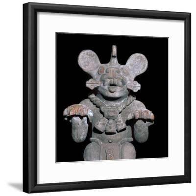 Aztec statuette of a bat-god. Artist: Unknown-Unknown-Framed Giclee Print
