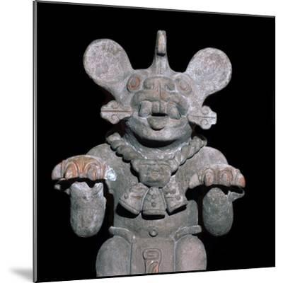 Aztec statuette of a bat-god. Artist: Unknown-Unknown-Mounted Giclee Print