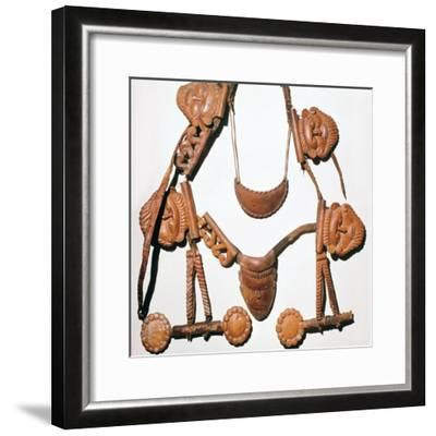 Scythian riding outfit found in a tomb, 5th century BC. Artist: Unknown-Unknown-Framed Giclee Print