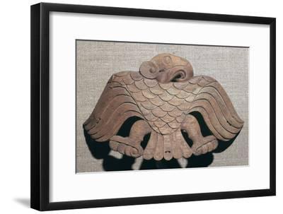 Scythian cedar wood saddle ornament, 5th century BC. Artist: Unknown-Unknown-Framed Giclee Print