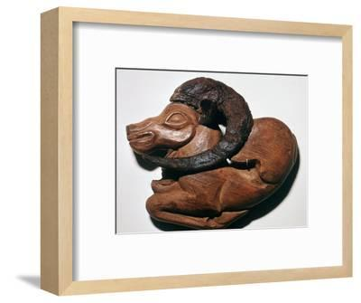 Scythian wooden harness-ornament, 5th century BC. Artist: Unknown-Unknown-Framed Giclee Print