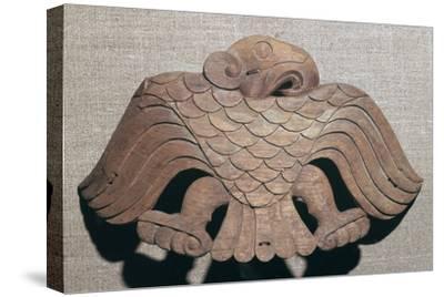 Scythian cedar wood saddle ornament, 5th century BC. Artist: Unknown-Unknown-Stretched Canvas Print