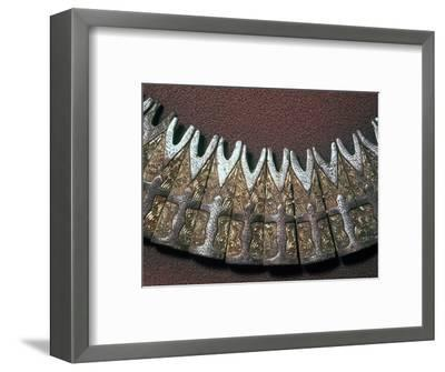 Detail of a Viking neck ornament. Artist: Unknown-Unknown-Framed Giclee Print