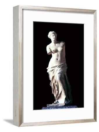 The Venus de Milo, 2nd century BC. Artist: Unknown-Unknown-Framed Giclee Print