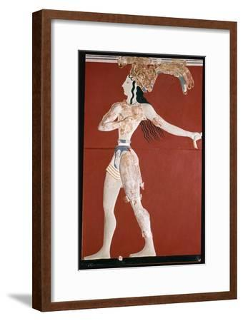 Priest-King' fresco from Knossos. Artist: Unknown-Unknown-Framed Giclee Print