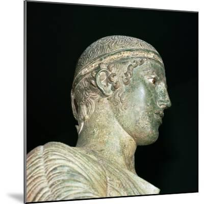 Detail of the Charioteer of Delphi, 5th century BC. Artist: Unknown-Unknown-Mounted Giclee Print