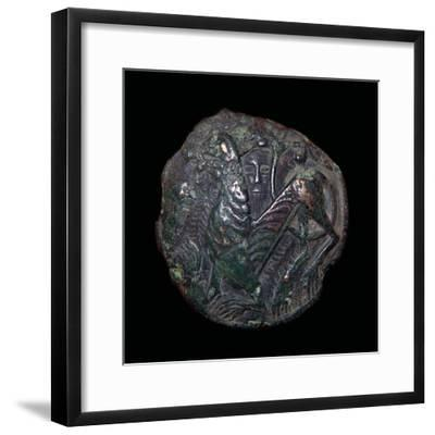 Viking metalwork from a hoard on the Isle of Man. Artist: Unknown-Unknown-Framed Giclee Print