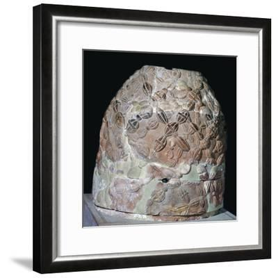 Omphalos from Delphi, 2nd century BC. Artist: Unknown-Unknown-Framed Giclee Print