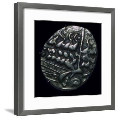 Celtic gold 'stater', 1st century. Artist: Unknown-Unknown-Framed Giclee Print