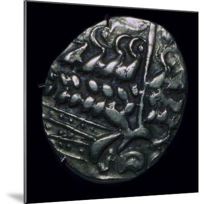 Celtic gold 'stater', 1st century. Artist: Unknown-Unknown-Mounted Giclee Print