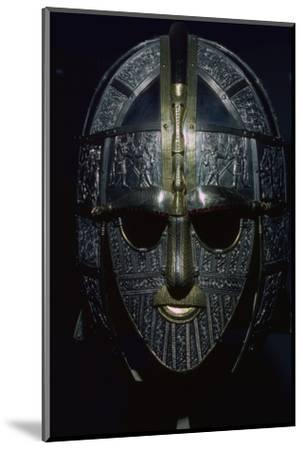 Sutton Hoo Helmet (reconstruction). Artist: Unknown-Unknown-Mounted Photographic Print