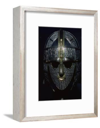 Sutton Hoo Helmet (reconstruction). Artist: Unknown-Unknown-Framed Photographic Print