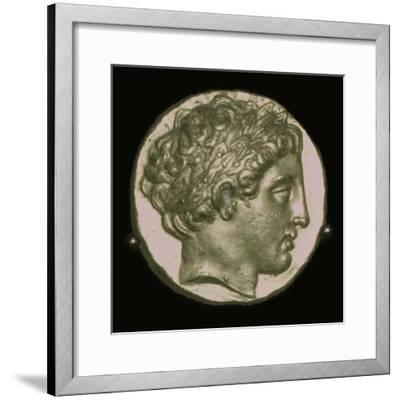 Gold Stater of Phillip II of Macedon, 4th century BC. Artist: Unknown-Unknown-Framed Giclee Print
