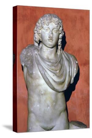 Statue of Apollo. Artist: Unknown-Unknown-Stretched Canvas Print