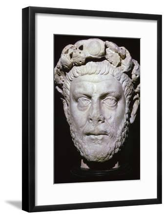 Bust of Diocletian. Artist: Unknown-Unknown-Framed Giclee Print