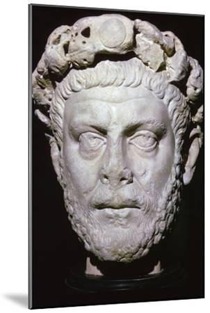 Bust of Diocletian. Artist: Unknown-Unknown-Mounted Giclee Print