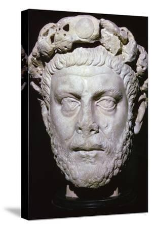 Bust of Diocletian. Artist: Unknown-Unknown-Stretched Canvas Print