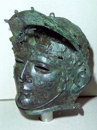 Cavalry sports helmet, Roman Britain, late 1st or early 2nd century. Artist: Unknown-Unknown-Framed Giclee Print